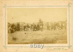 Civil War Rare Original Albumen By Haas & Peale Morris Island & Hiltonhead SC