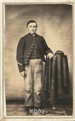 Civil War Soldier CDVs Group Of Five Veterans From Danville Pennsylvania