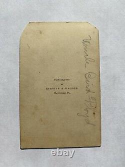 Civil War Soldier CDVs James B. Floyd 127th Pennsylvania