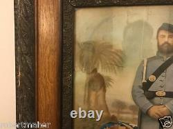 Civil War Soldier Tintype and Water Color MAKE ME AN OFFER