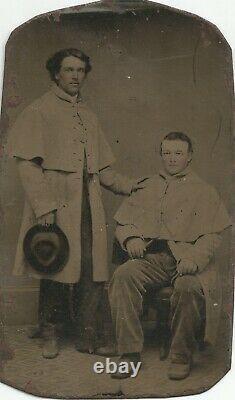 Civil War Soldier Tintypes & CDVs Luther M. Stumbaugh 77th Pennsylvania Infantry