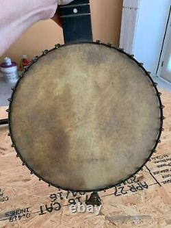 Civil war banjo dated 1887. Was carried by great great great uncle