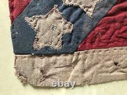 Civil war reunion flag