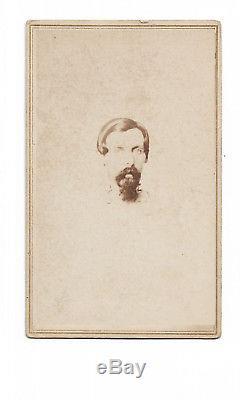 Confederate General Samuel Garland Jr Civil War CDV