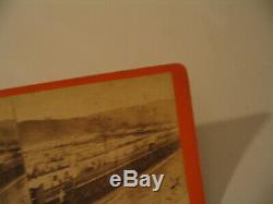 Confederate Prison Civil War Elmira New York Larkin 14 Stereoview Photo cdii