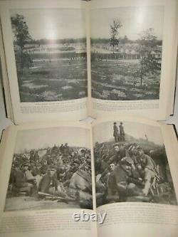 Delux 43 Lb Set Photographic CIVIL War History Navy Battles Prisons Csa Union