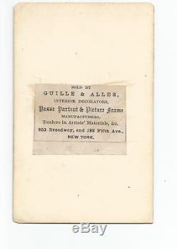 EARLY 1860s BASEBALL CIVIL WAR CARTE DE VISITE CDV