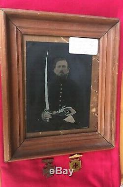 Full Plate Tintype Of Alabama Civil War Soldier