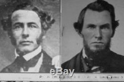 Gen. ROBERT E. LEE / Early Ambrotype c. 1854 / PRE- CIVIL WAR PHOTO
