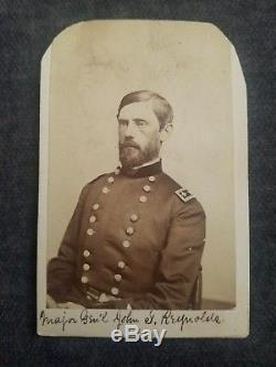 General John F Reynolds CDV Gettysburg KIA Civil War