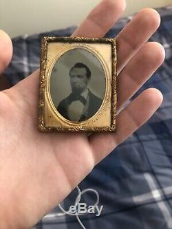 Identified Civil War Soldier Ambrotype WIA 31st Maine Infantry