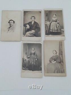 Imperial Stamp Album plus Lot of Civil War Photos- 1800s Envelopes and Stamps