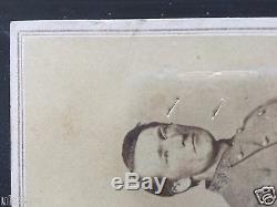 John Singleton Mosby Confederate Civil War Signed Photograph CDV rare