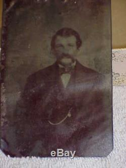 Lot of Tin Type Civil War photographs soldier family two cases pictures 1860's
