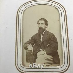 Lyons Clyde Baldwinsville Wayne County NY Civil War Era CDV Photo Album Lot