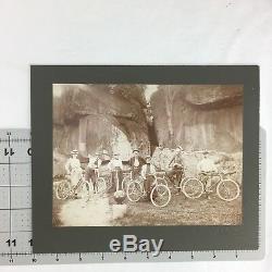 Memper Photo Antique Bike Bicycle Club Devil's Den Post Civil War C 1890