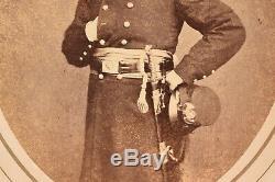 Named Civil War Union Officer Gen Edgar Mantlebert Gregory Framed Photo