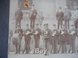 Ohio GAR Civil War Veterans Renuion Mounted Photo