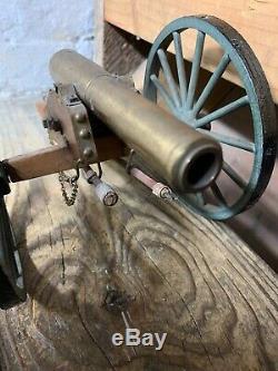 Old Vintage Repro Civil War Cannon