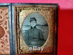 Original 9th Plate Civil War Soldier Tintype