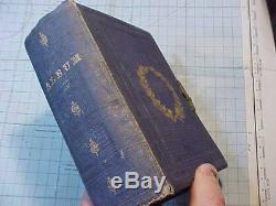 Original CIVIL War Era CDV Photo Album