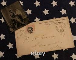 Original CIVIL War Period Tin Type Willy Sherman From Ewing Family Estate