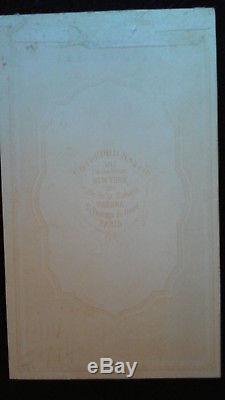 Original Civil War CDV of Major General David B. Birney Wearing Kearny Medal
