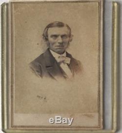 Original Civil War Confederate General Robert E. Lee CDV Vintage Photograph RARE