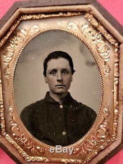 Original Civil War Soldier Tintype
