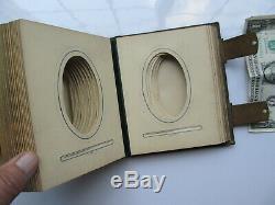 PERFECT Antique Civil War, Victorian Patent Carte de Visite Album, Great Binding