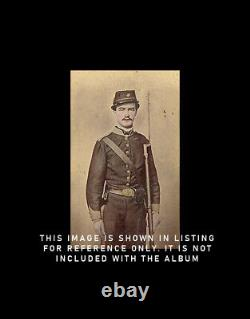 Photo Album inl KIA Civil War Confederate Soldier Vet Louisiana MO Virginia Rare
