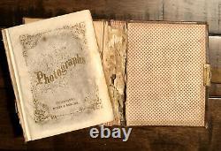 Pioneer Corvallis Oregon LOCKE Family Photo Album Identified CIvil War Era