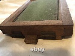 RARE Civil War Era Mobile Wood Photo Frame