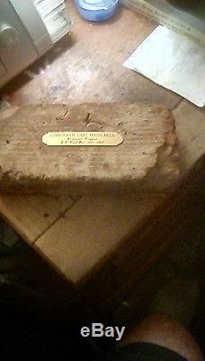 RARE confederate civil war libby prison original building brick
