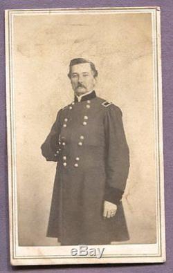 Rare 1st First Minnesota MN Civil War Photograph Album, 5 Generals, 3 Soldiers