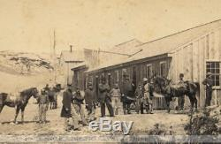Rare CDV Photo Civil War Soldiers incl African American Mathew Brady 1860s