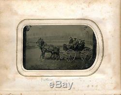 Rare Civil War Photograph Album, 27th Wisconsin & 1st Minnesota Vol Infantry