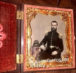 Rare Confederate Civil War Soldier Photo 5th Georgia Clinch or Cuthbert Rifles