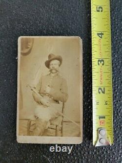 Rare Historical Named Civil War CDV photo Union soldier picture photograph