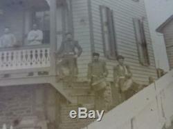Rare Identified Union Civil War Drum withWorsted Strap & Drumsticks & Photograph