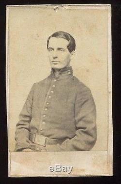 Rare Photo Album, 1st Michigan Civil War Tintype, General John C Robinson CDV