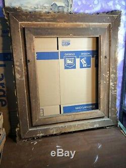 Rare Victorian Gesso Picture Frame Fits 20by 24 Painting Civil War Era