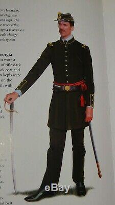 Rarest Confederate Civil War Soldier Photo 5th Georgia Clinch or Cuthbert Rifles