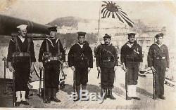 Russian Civil War 1918-19 AEF Siberia. 91 original photo. VLADIVOSTOK