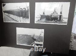 SPANISH CIVIL WAR Deutschland photo Album GIBRALTAR PALMA IBIZA majorca ALMERIA