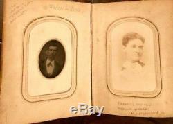 Southern Album & 44 Photos Civil War Confederate Vets, Murder, Slave Era Nanny