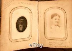 Southern Album & 44 Photos Civil War Confederate Vets, Murder, Slave Nanny