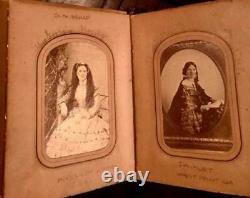 Southern Album & 44 Photos Many ID's + Civil War CSA Vet Murder Slave