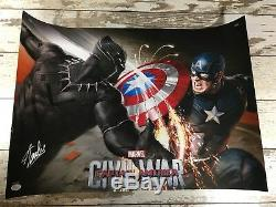Stan Lee signed Captain America Civil War Autographed Jsa Authentication Limited