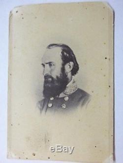 Stonewall Jackson, CIVIL War Confederate General, Original CDV